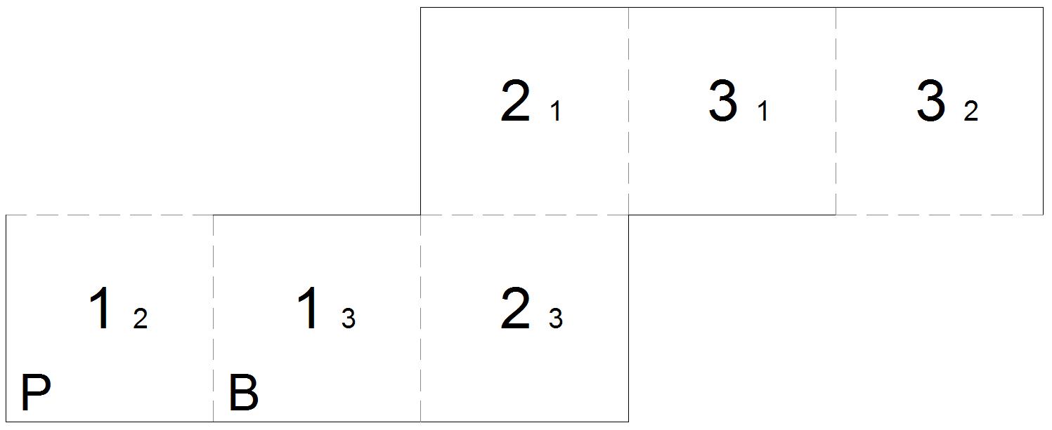 Square Box Template Template for square