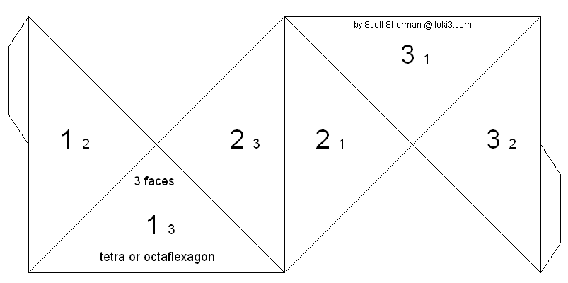 SIDED PYRAMID TEMPLATE image gallery