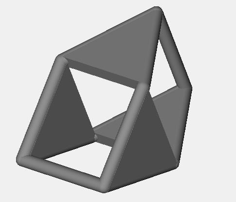 square d4 dice