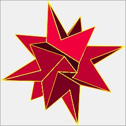 non-convex equilateral pentagonal icositetrahedron