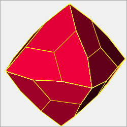 equilateral pentagonal icositetrahedron